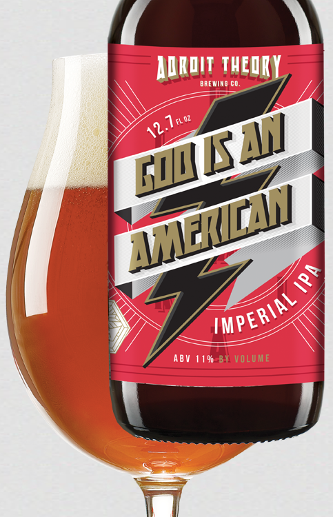G/I/A/A [god is an american] - Imperial IPA
