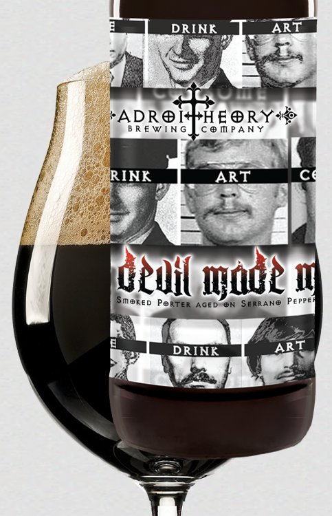 The Devil Made Me - Smoked Porter