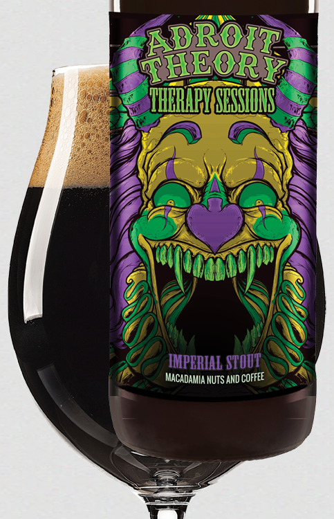 Therapy Sessions [coffee & macadamia nut variant] - Imperial Stout