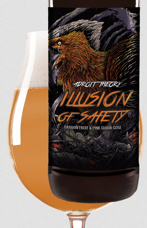 Illusion of Safety [passionfruit & pink guava] - Gose