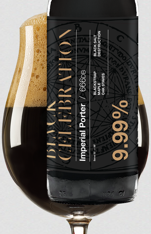 BLVCK Celebration - Oak BA Imperial Porter
